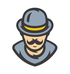 gentleman cartoon vector image