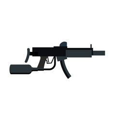 Paintball gun isolated sports weapons play rifle vector