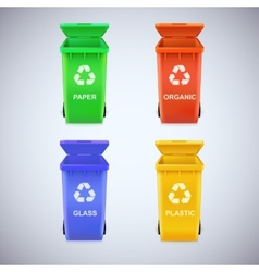 Recycle bins with sign vector