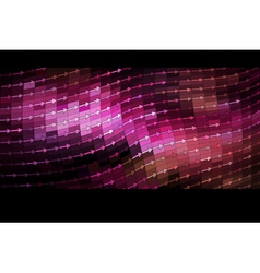 shiny mosaic banner vector image