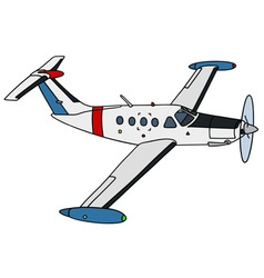 Small watch airplane vector