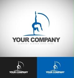 Sport Logo silhouette vector image