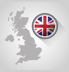 United kingdom country flag vector