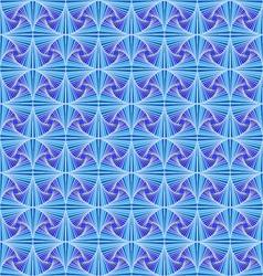 Zentangle pattern blue ornamental elements vector image