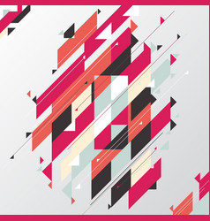 abstract geometric modern diagonal and triangle vector image