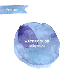 Abstract stylish watercolor background vector