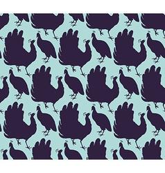 Birdspattern vector image