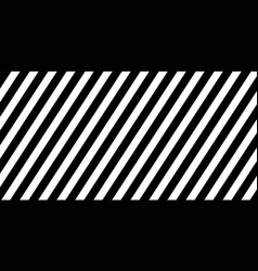 Horizontal banner black diagonal lines striped vector