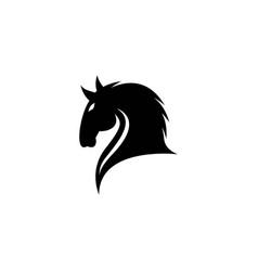 Horse logo creative icon vector