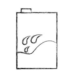 Milk box isolated icon vector