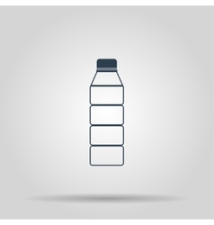 Plastic bottle icon vector image