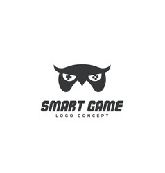 smart game logo vector image
