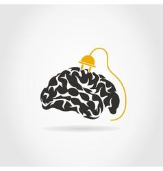 Brain7 vector image vector image
