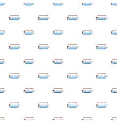 excursion ship pattern vector image vector image
