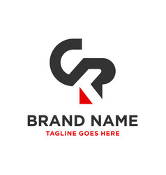 design a business logo with letter ckp vector image