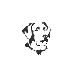 Dog face designs vector