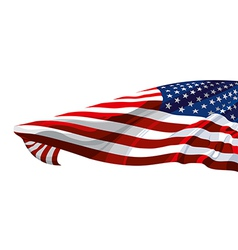 Flag of the United States of America vector