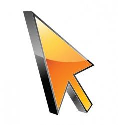 graphic arrow vector image