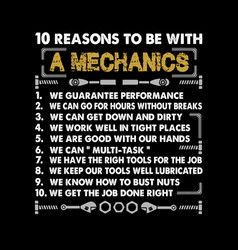 Mechanic quote and saying best graphic for your vector