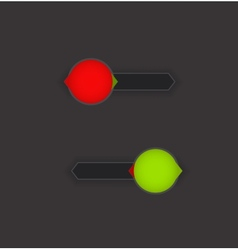 On Off Button vector