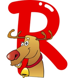 R for reindeer vector