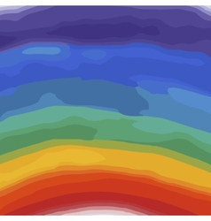 Rainbow colors watercolor background vector