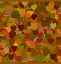 Repeating heart pattern background - graphic from vector