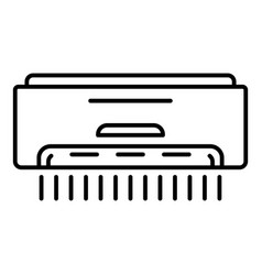 room conditioner icon outline style vector image