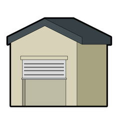 warehouse icon vector image