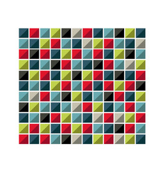 colores square background icon vector image vector image