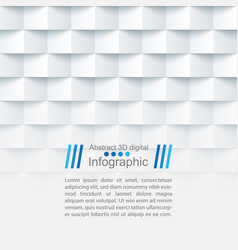 Abstract paper template - origami style vector