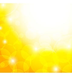 Abstract yellow background vector image