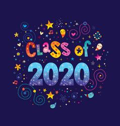 Class 2020 vector
