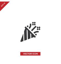 confetti icon vector image