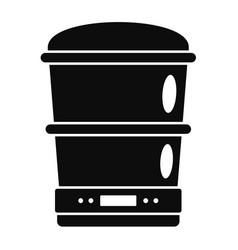 Food processor machine icon simple style vector