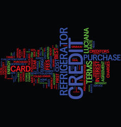The cost of credit text background word cloud vector