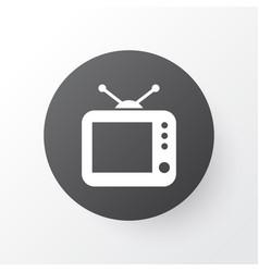Tv icon symbol premium quality isolated vector