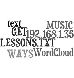 Ways to get most out your music lessons vector
