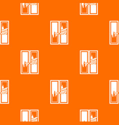 window cleaning pattern seamless vector image