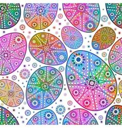 Easter egg seamless pattern EPS 10 vector image