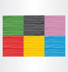 abstract background colorful texture set vector image