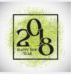 happy new year confetti background vector image vector image