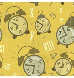 alarm clocks seamless vector image