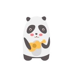 Panda Playing Guitar vector image