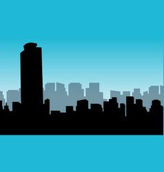 building mexico city vector image
