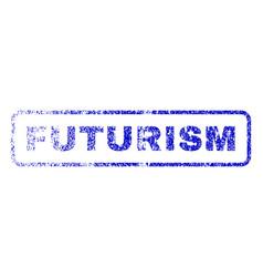 Futurism rubber stamp vector