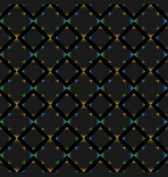 polygonal figure seamless wallpaper vector image