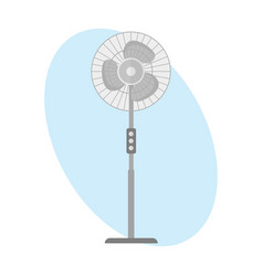 turbine icon propeller fan rotation technology vector image