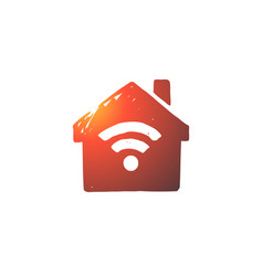wi-fi internet connection web signal concept vector image