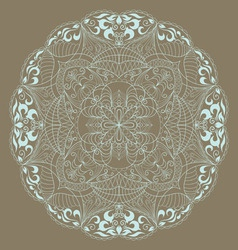 circle background vector image vector image